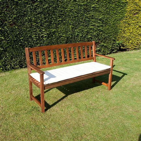 3 seat bench cushion cc 3 seat garden bench cushion natural