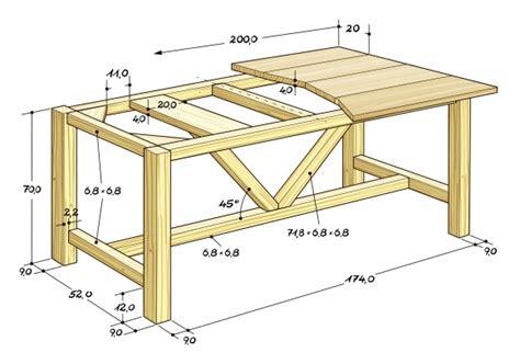 Holztisch Selber Machen by Esstisch Selber Bauen