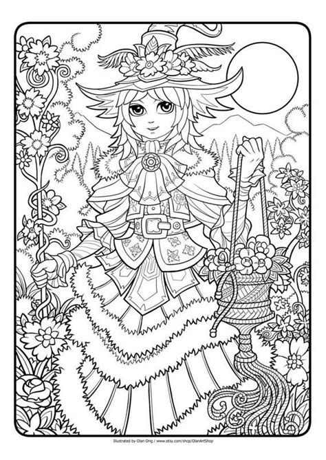 fantastic lines  printable coloring page  adults
