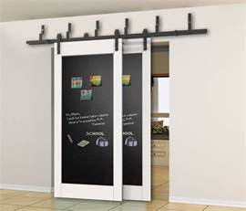 Bypass Closet Door Hardware 5 6 6 6 8ft Bypass Sliding Barn Wood Closet Door Rustic Black Hardware Ebay