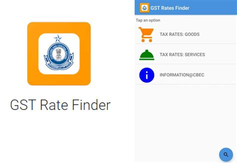 Government Finder Government Launches Gst Rate Finder Application For Smartphones