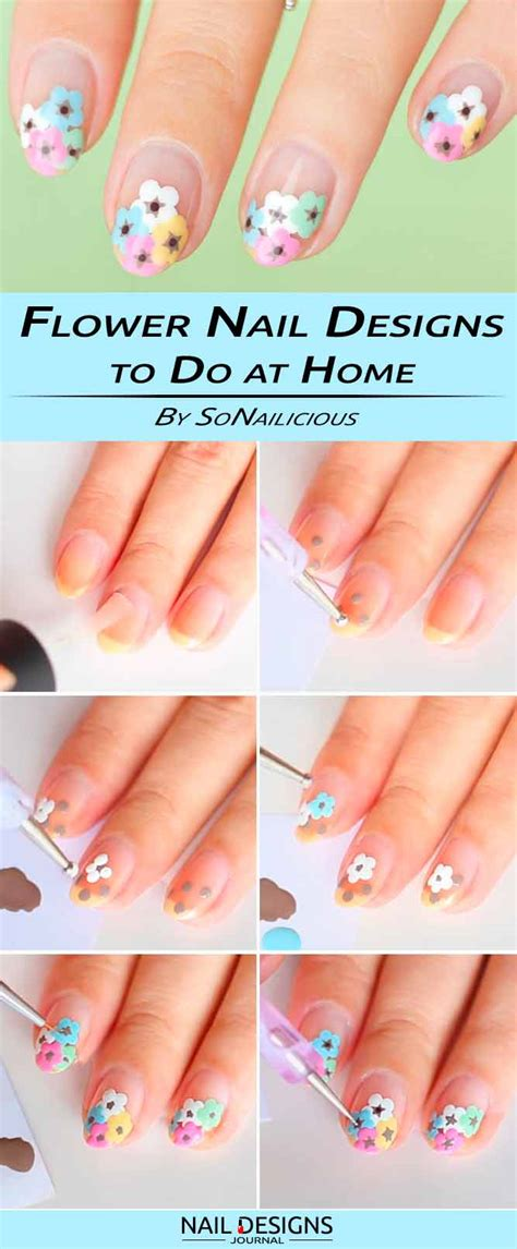 10 ideas how to do nail designs at home step by step