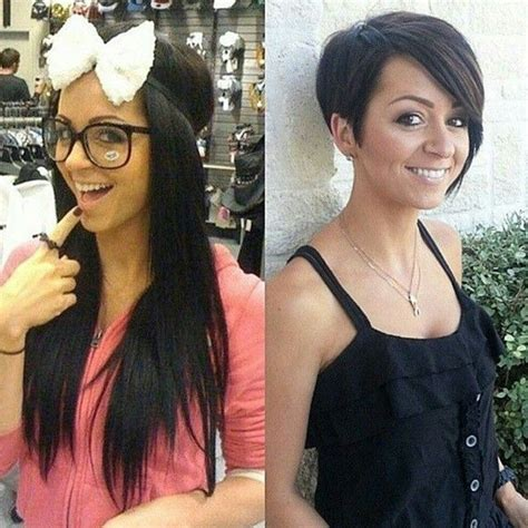 ponytail haircut before and after before and after images of ponytail haircuts before and