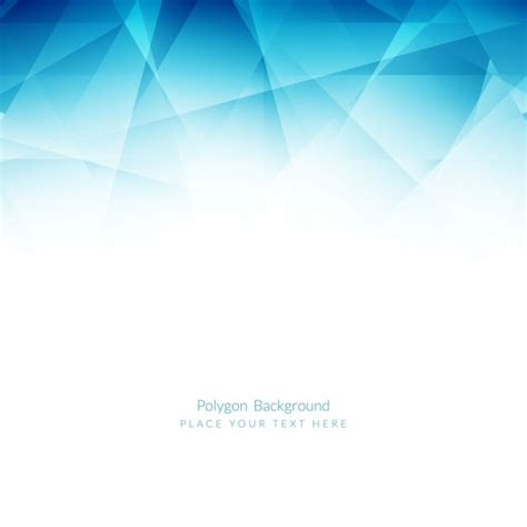 blue wallpaper vector free download blue polygonal background vector free download