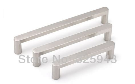 stainless steel kitchen cabinet handles 2pcs 96mm furniture hardware stainless steel kitchen