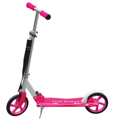 Kids Scooter With Big Wheels | pink aluminium kids pro folding push urban kick scooter 2