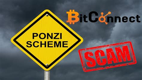 bitconnect pyramid scheme why bitconnect is a scam and ponzi scheme stay away