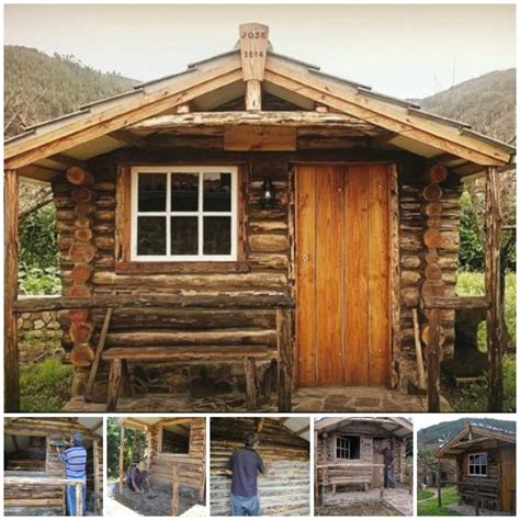 log cabin building diy step by step log cabin building plans
