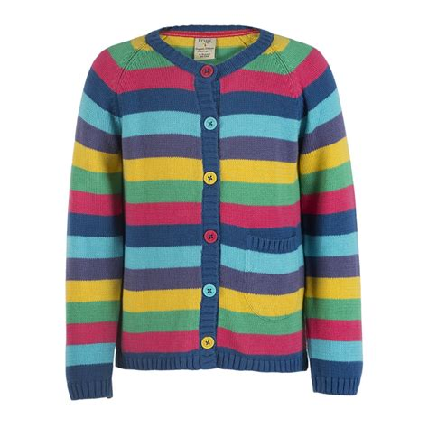 Rainbow Cardigan 1 frugi happy day winter rainbow cardigan