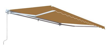 aleko awning aleko retractable patio awning sand color 16ft x 10ft