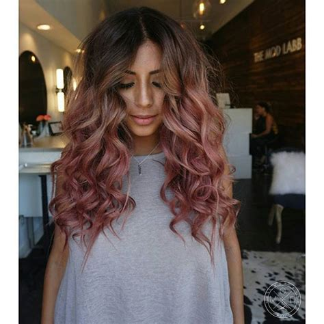 Ombre Hair Clip Dusty Pink 25 best ideas about pink hair on