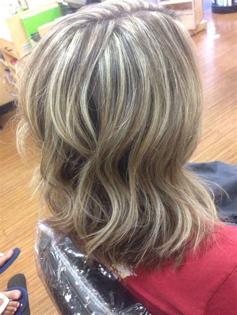 heavy weave blonde highlights pretty hairstyles hairdo