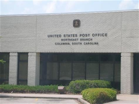 Columbia Post Office by Columbia Sc 29223 Northeast Branch U S Post