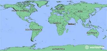 Maldives On World Map by Where Is Maldives Where Is Maldives Located In The