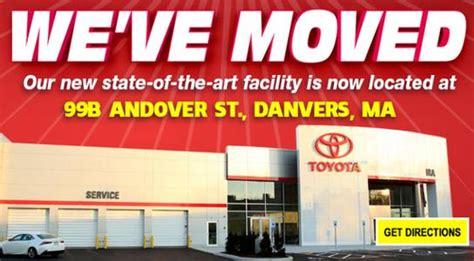 Toyota Danvers Ma Service Ira Toyota Of Danvers Danvers Ma 01923 Car Dealership