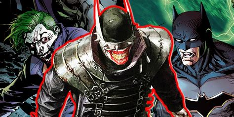 batman the who laughs dc reveals the batman who became joker screen rant