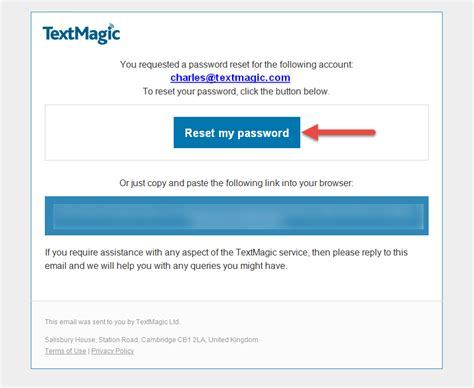 reset magic online password how to login and understand the interface textmagic