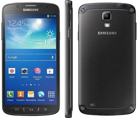 galaxy s4 rugged samsung galaxy s4 active 16gb sgh i537 rugged android smartphone att wireless black