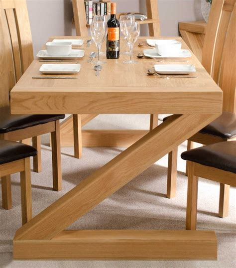 z oak designer dining table large only blue interiors