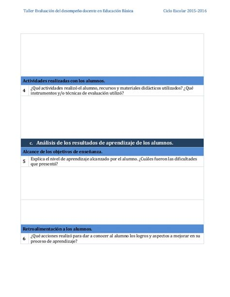 resultados de evaluacin del desempeo docente 2015 vpds ii evaluacion de desempeo docente 2015