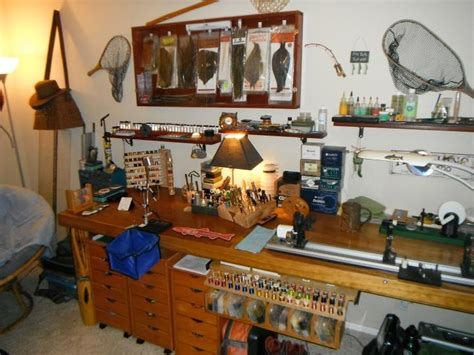 fly tying room  storage images  pinterest
