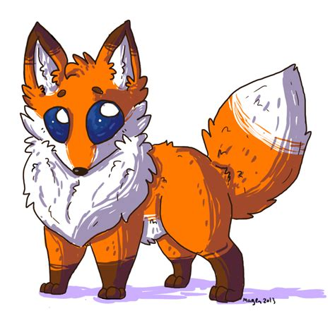 Anime Fox by Free Coloring Pages Of Chibi Fox
