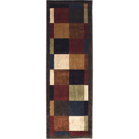 Mohawk Runner Rug Mohawk Home Bartley Woven Runner Rug Brown 1 11 Quot X 5 6 Quot Walmart
