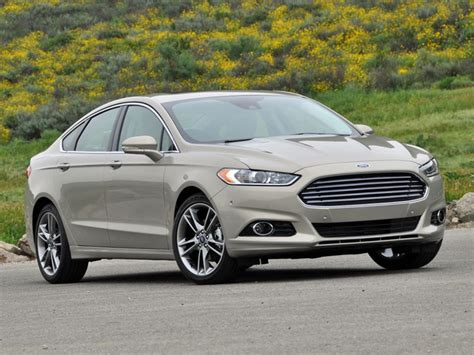 ford fusion test drive review cargurus