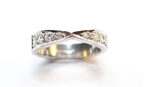 Handcrafted Engagement Rings Uk - handmade silver wedding rings uk