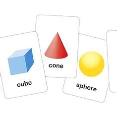 shape flash cards template 3 dimensional printable shapes flash cards free printables