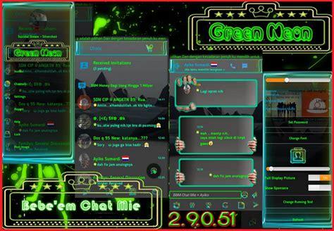 bbm mod terbaru  game gratis bbm mod chat mie