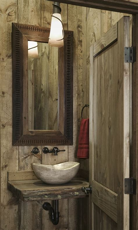 rustic cabin bathrooms 112 best brown farmhouse images on pinterest res life