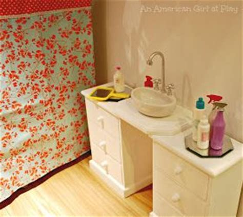 how to make an american girl doll bathroom 68 best american girl dollhouse bathroom diy ideas and