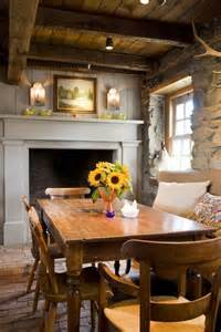 Kitchen Dining Room With Fireplace 25 Best Ideas About Cottage Fireplace On