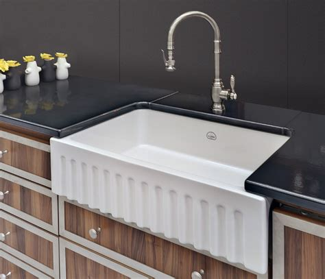 la cornue vasque fireclay sink traditional kitchen