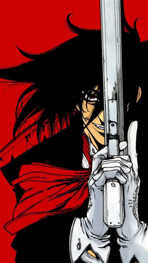 alucard iphone wallpaper ヘルシング 壁紙 iphone
