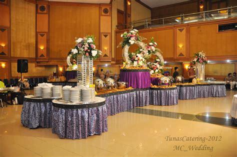 layout ruang buffet review gadih ranti dan tunas catering di pernikahan kami
