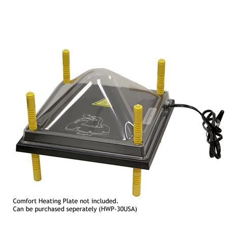comfort heating cover for comfort heating plate hog slat
