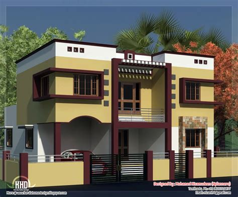 28 House Design Pictures In Tamilnadu Small Double Storied Tamilnadu Home