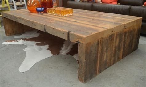 recycled baltic pine warehouse collection coffee table wa