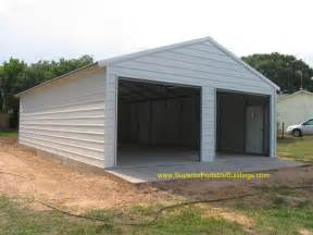 24x40x9 boxed eave garage