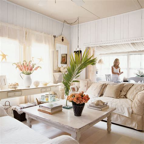 cottage livingrooms 100 comfy cottage rooms coastal living