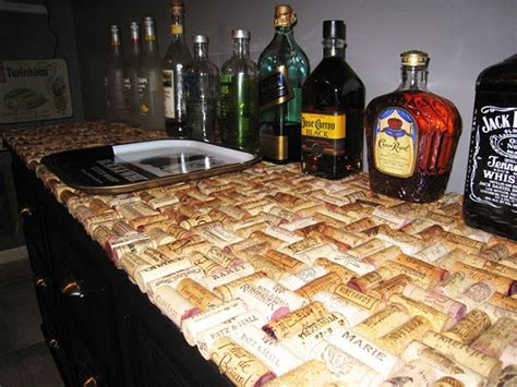 wine cork bar top diy wine cork crafts diy ready
