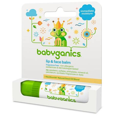 Babyganics Organic Lip Balm babyganics organic lip balm 7g babyonline