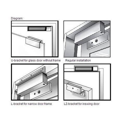 Mag Locks For Glass Doors Door Maglock Door Magnetic Lock