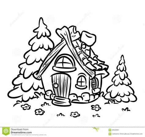 printable fairy house fairy house coloring picture for kids coloring page