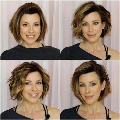 how to grow out bangs after 40 35 best layered short haircuts for round face 2018 short