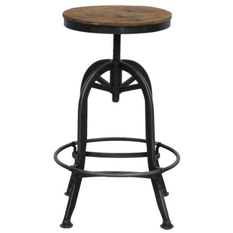 Akron Adjustable Height Bar Stool kosas home akron adjustable height bar stool reviews