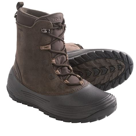 boots for snow teva highline snow boots waterproof insulated for