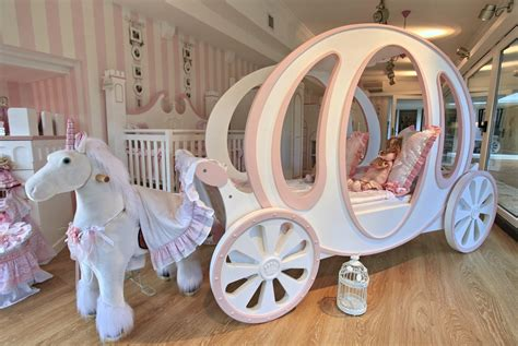 girls carriage bed nursery on pinterest disney princess nursery teal